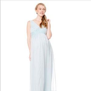 Grecian-Inspired Jessica Simpson Maternity Maxi